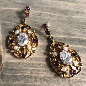 Jewelry - St. Labre Victorian Revival Earrings